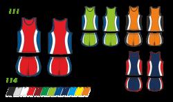 Легкоатлетическая форма 111/114